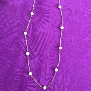 Jewelry - Cultured Pearl and Sterling Silver Chain